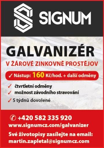 Signum Galvanizér