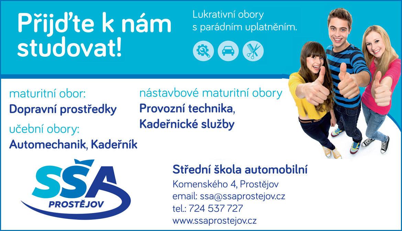 SŠA Automobilní Prostějov