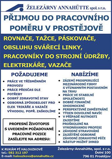 Železárny Prostějov