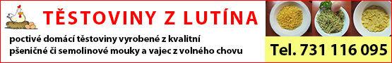 Těstoviny Lutín